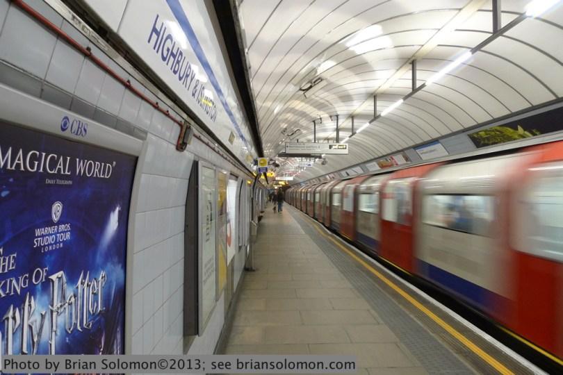 Tube Station.