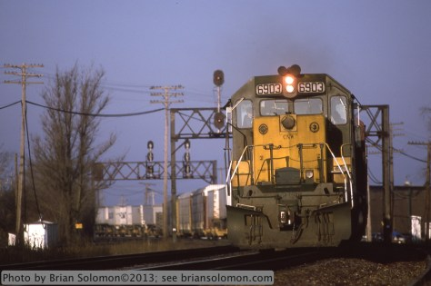 C&NW at Rochelle, Illinois.