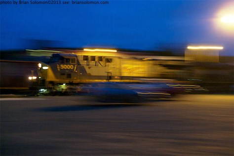 Pan photo of CSX.