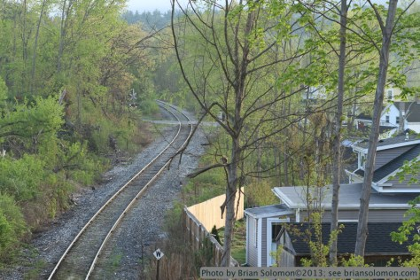 Tracks in Monson, Massachusetts