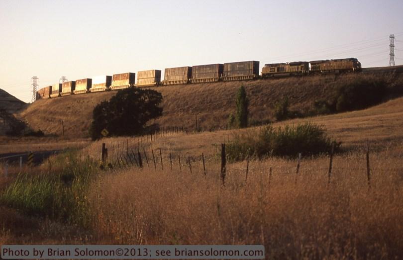 Union Pacific container train