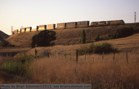 Union Pacific container train
