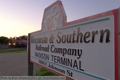 Wisconsin & Southern's Madison Terminal. Lumix LX-3 exposed at f3.5 1/13 second.