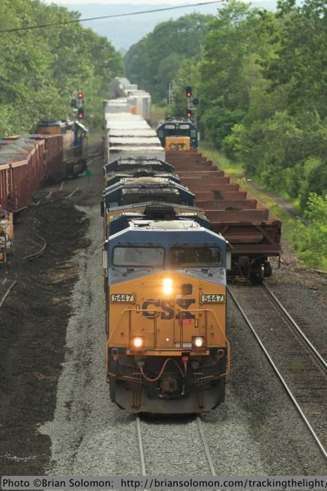 CSX intermodal train.