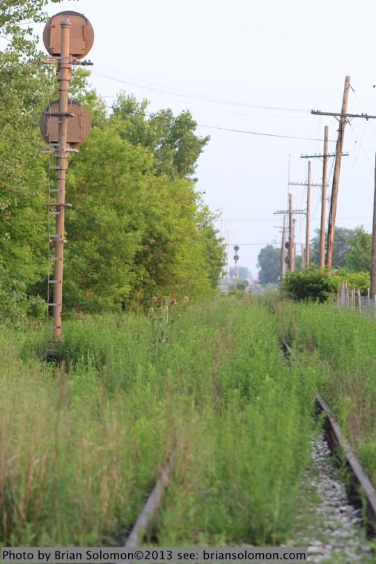 Old tracks Chicago.