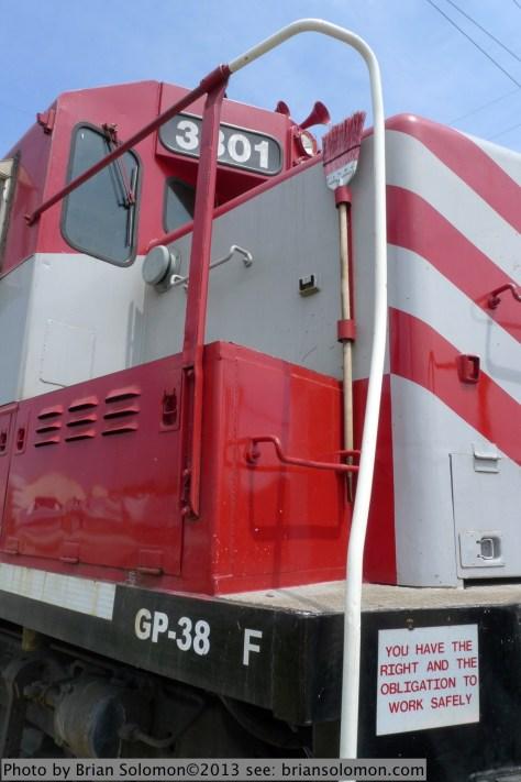 WSOR GP38 number 3801