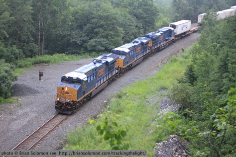 CSX at State Line Tunnel