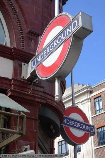 Underground Station at Covent Garden