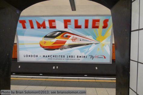 Virgin Trains advertisement