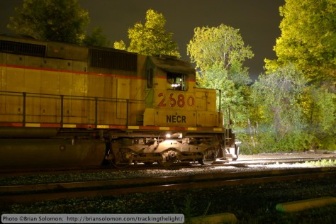 New England Central freight.