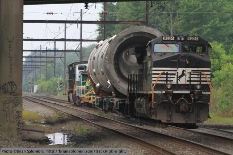Norfolk Southern X999, Yardley, Pennsylvania.