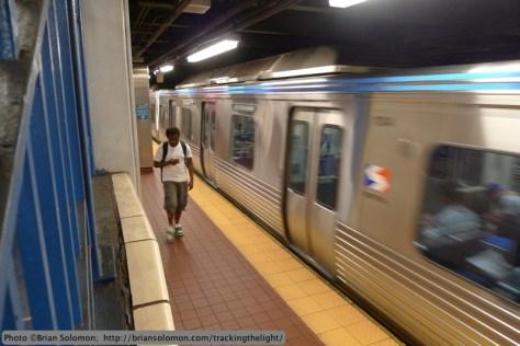 SEPTA subway.