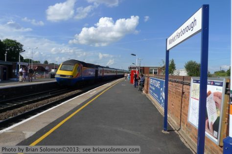 East Midlands Trains HST high speed train