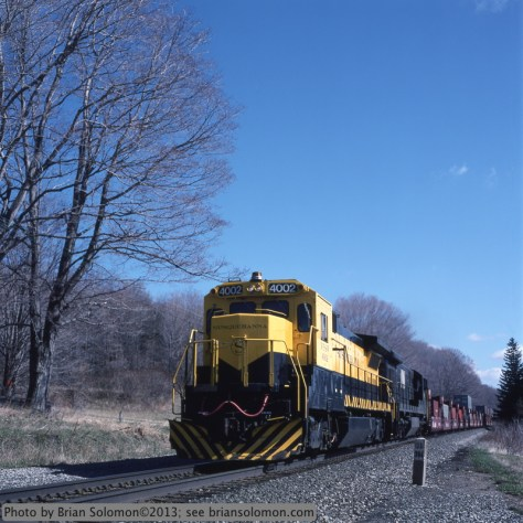 New General Electric DASH8-40B on New York Susquehanna & Western