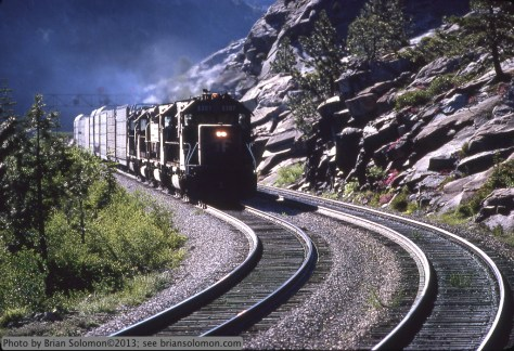 Southern Pacific on Donner Pass.