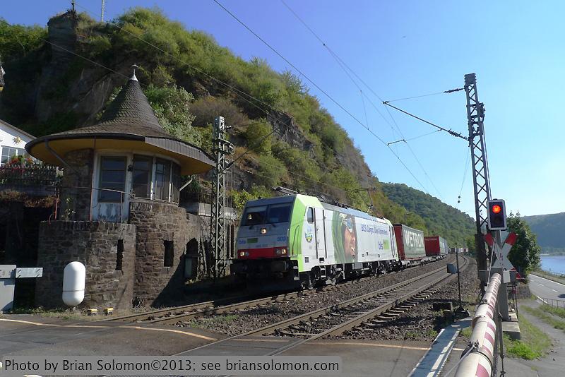 BLS freight on Rhein.