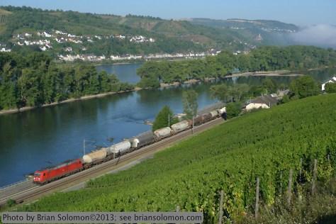 Rhein River Valley