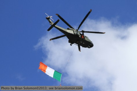Helicopter with Irish Flag IMG_0941