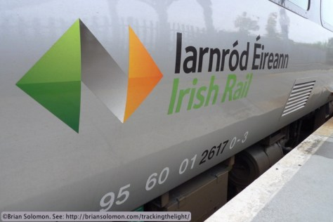 New Irish Rail logo.