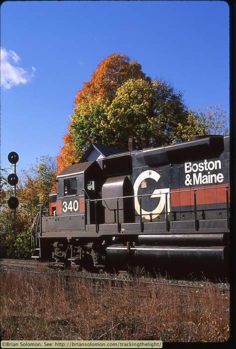 EMD GP40 diesel