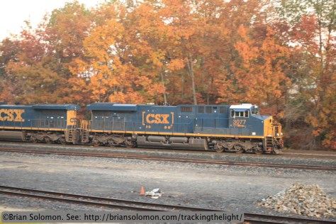 CSX Evolution-series locomotive.