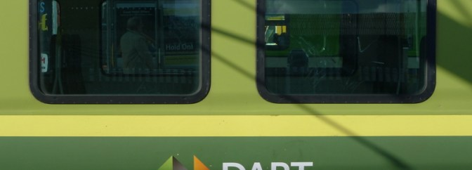 DART at Connolly Station, October 10, 2013