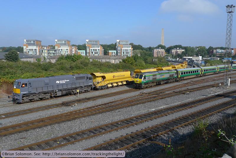 Irish Rail Dublin.