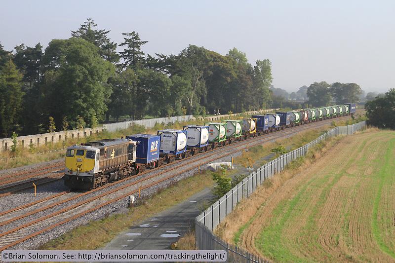 Irish Rail freight.