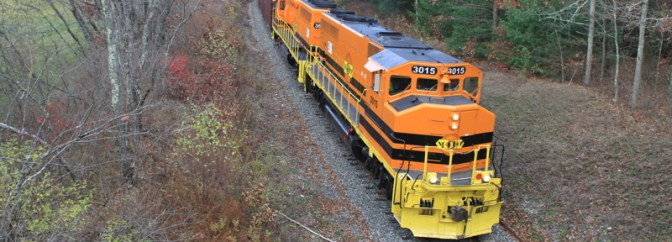 New England Central Job 610—Genesee & Wyoming Style