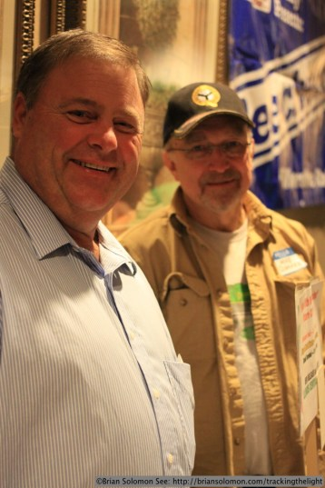 Dick Gruber and Mike Schafer.