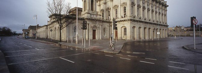 SPECIAL CHRISTMAS MORNING POST: Heuston Station Dublin.