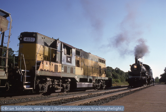 Steam and diesel