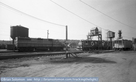 Boston & Maine's East Deerfield Yard