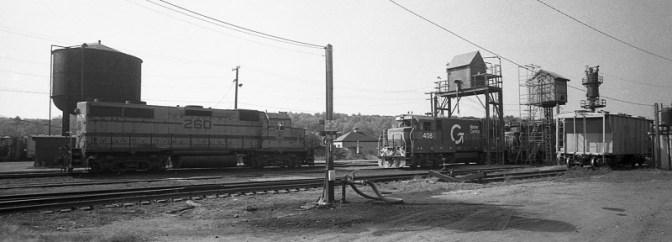 Boston & Maine's East Deerfield Yard