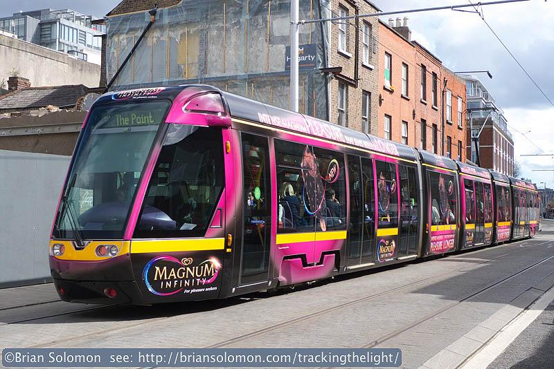 Dublin tram.