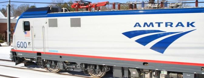 Daily Post: Amtrak Cities Sprinter Revenue Run, February 7, 2014