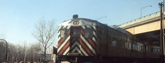 Amtrak RDCs depart Springfield, Massachusetts