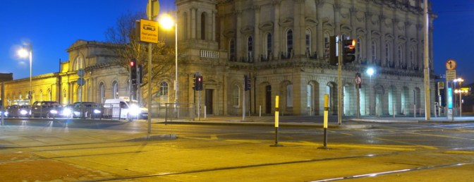 Heuston Station Lit For St Patrick's Day—Part2—Tracking the Light Daily Post