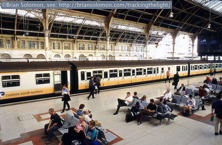 London stations.
