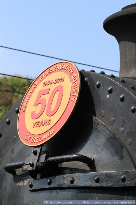 Railway Preservation Society Ireland celebrates 50 years this year. Canon EOS 7D with 100mm lens.