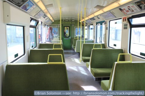 DART interior view.