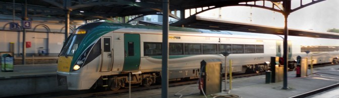 Railcar Sunset.
