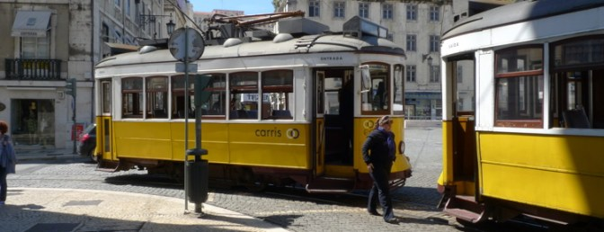 Lisbon's Trams.