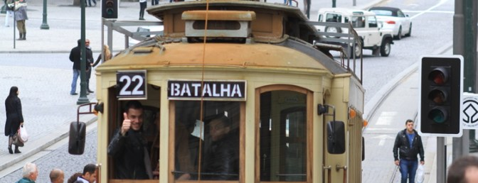Historic Trams: Porto.