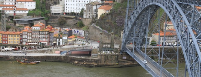 Eiffel Bridge, Porto.