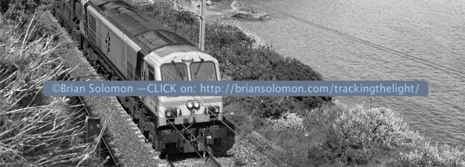 Irish Rail at Killiney—Tracking the Light Daily Post