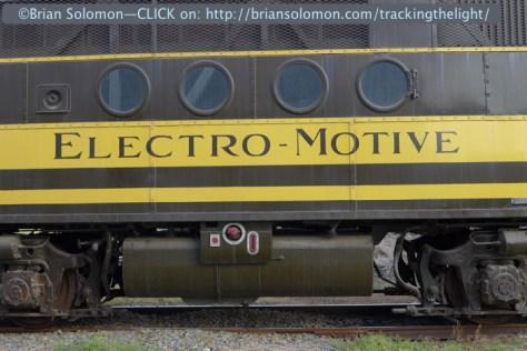 General Motors classic FT—'the diesel that did it'.