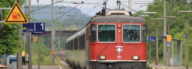 Swiss Expresses at Gottmadingen.