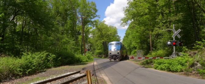 Amtrak's Vermonter on New England Central