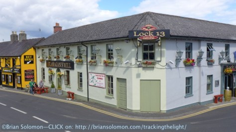 The Lock 13 Pub at Sallins, County Kildare. Lumix LX7 photo.
